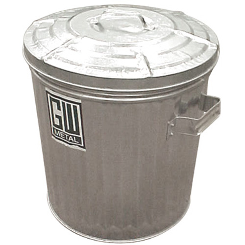 Galvanized Garbage Cans