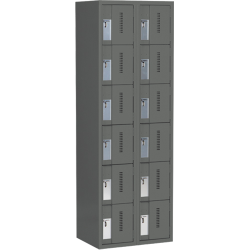 6 Tiers - Colour Charcoal