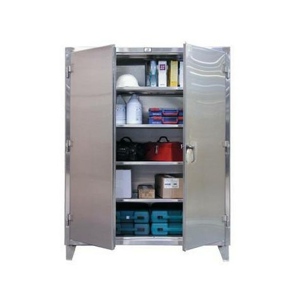 Extra Heavy-Duty Stainless Steel Cabinets