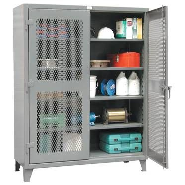"Heavy-Duty Ventilated Storage Cabinets -  24""D x 36""W x 72""H"