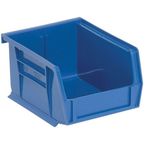 "Quantum™ Bins - Capacity: 50 lbs. - Outside Width: 5-1/2"" - Outside Depth: 14-3/4"" - Case/Qty: 18"