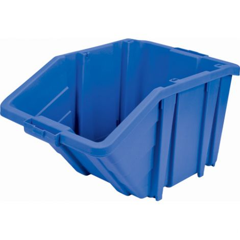 Jumbo Plastic Containers - Colour: Blue - Case/Qty: 4