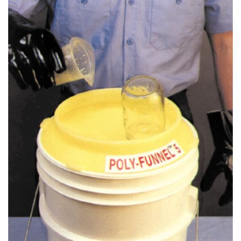 Poly-Pail Funnels™ Funnel - Material: Polyethylene
