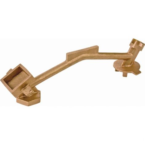 Bung Nut Wrench - Non-Sparking, Manganese Bronze Alloy