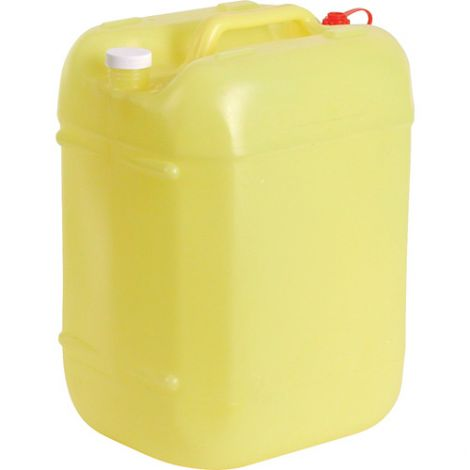 Rectangular Poly Tight Head Containers - Capacity: 5.3 gal. - Opening: 63 mm