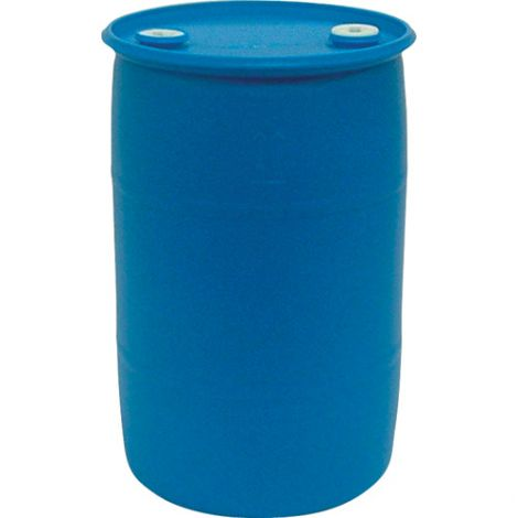Blue Polyethylene Drums - Drum Size: 55 US gal (45 imp. gal.) - Unlined / Closed Top