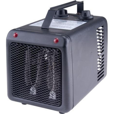 Portable Open Coil Heaters - Power Source: Electric