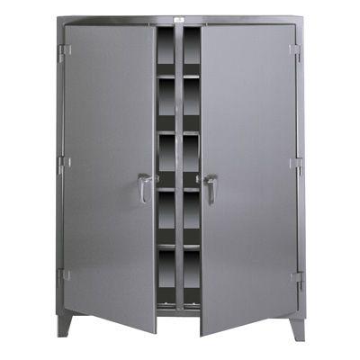 """Double Shift Storage Cabinets - 24""""D x 72""""W x 72""""H"""
