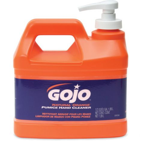 GOJO® Natural Orange™ Pumice Hand Cleaner - Type: Pumice - Container Size: 1.89 L - Qty/Case: 12