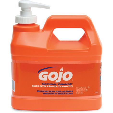 GOJO® Natural Orange™ Hand Cleaner - Type: Cream - Container Size: 500 ml - Qty/Case: 8