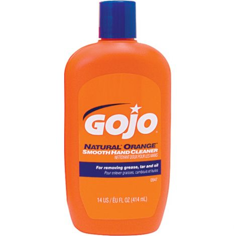 GOJO® Natural Orange™ Hand Cleaner - Type: Cream - Container Size: 414 ml - Container Type: Bottle - Qty/Case: 24