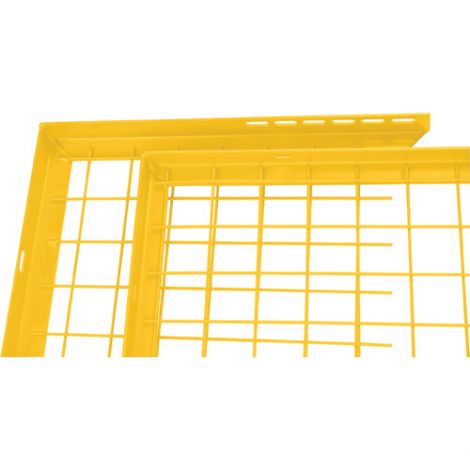 Adjustable Filler Panel - Colour: Yellow - Dimensions: 8'W x 1'H