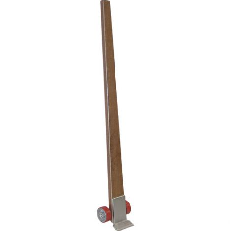 """Pry Dolly - Handle: Wood - Capacity: 4250 lbs. -  Nose Plate: 6"""" x 3-1/8"""""""