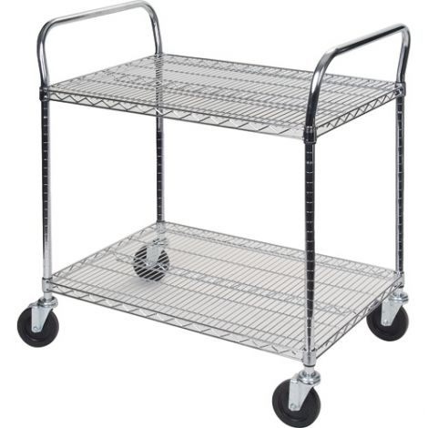 """Utility Carts - Overall Width: 24"""" - Overall Depth: 60"""""""