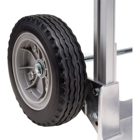 """Aluminum Hand Truck Replacement Wheel - Wheel Material: Flat-Free - Wheel Size: 10""""H x 3""""W"""