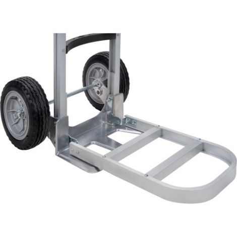 """Aluminum Hand Truck Nose Extension - Nose Plate Dimensions: 20""""W x 13""""D"""