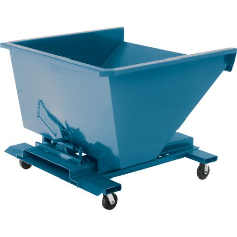 Steel Self-Dumping Hoppers Without Casters - Capacity: 1/2 cu.yd.