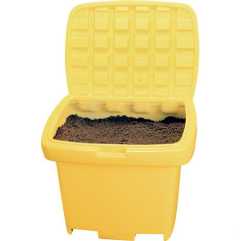 Heavy-Duty Salt Sand Storage Container - Capacity: 5.5 cu. Ft.