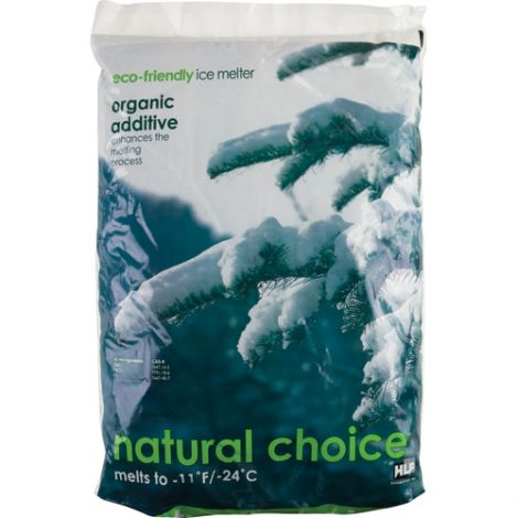 Natural Choice™ Ice Melters - Container Size: 44 lbs.(20 kg) - Container Type: Bag - Melting Point: -24°C (-11°F)