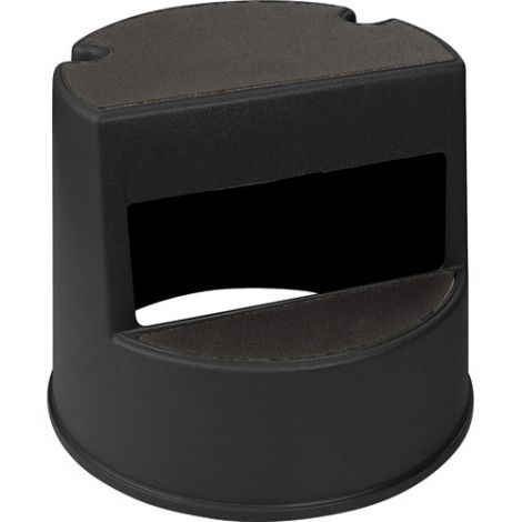 """Step Stools - No. of Steps: 1 - Overall Height: 13"""" - Overall Length: 13"""" - Overall Width: 16"""" - Colour: Black"""