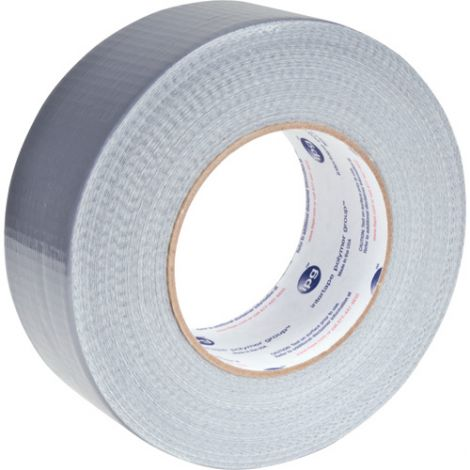 Utility Grade Duct Tape AC20, Colour: Silver Grey, Rolls/Case: 24