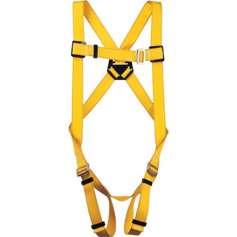 Durabilt Harnesses - Class: A - X-Large - D-Rings: Back - Leg Strap Connections: Pass-Through