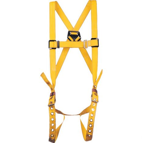 Durabilt Harnesses - Class: A - X-Large - D-Rings: Back - Leg Strap Connections: Tongue Buckle