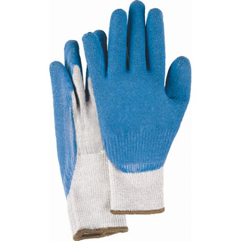 Natural Rubber Latex Coated Gloves - Size: Small (7) - Case Quantity: 120