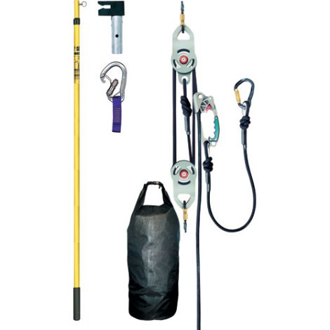 """Fall Protection Rescue Kit - Designed to be an """"out of the bag"""" rescue system"""