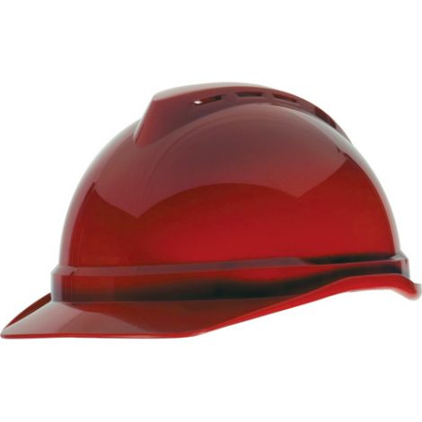 Advance® Vented Caps - Colour: Red