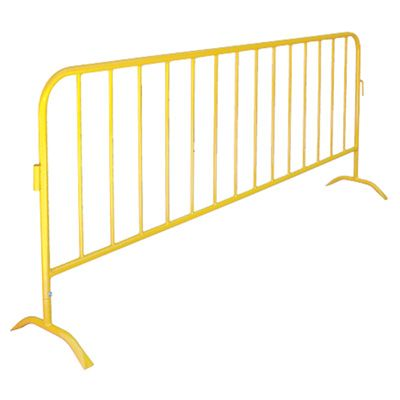 Portable Interlocking Barriers - Finish: Safety Yellow Finish