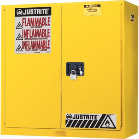Wall Mount Sure-Grip® Ex Safety Cabinets - Capacity: 20 gal.