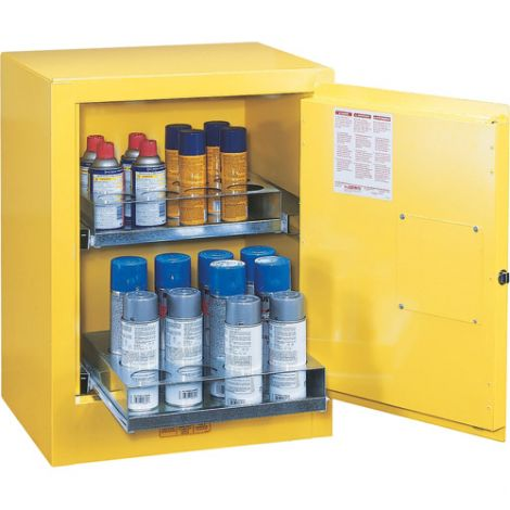 Sure-Grip® EX Aerosol Cans Benchtop Flammable Safety Cabinet