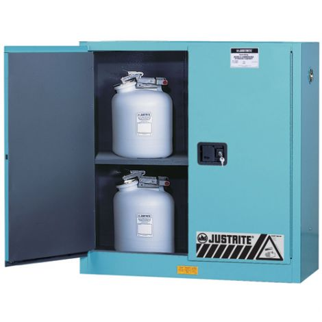 """ChemCor® Lined Acid/Corrosive Storage Cabinets - Capacity: 22 gal. - Width: 23.25"""" - Depth: 18"""" - Height: 65"""""""