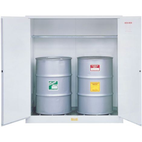 Hazardous Waste Safety Cabinets - Door Type: Manual - No. of Drums: 2