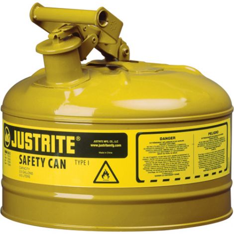Type I Safety Can - Capacity: 5 US gal.