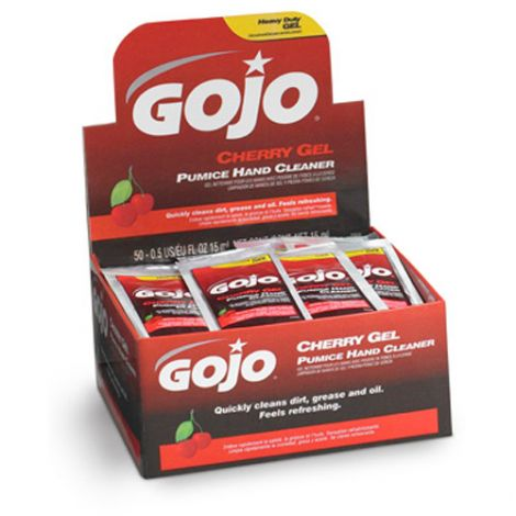 Gojo® Cherry Gel® Pumice Hand Cleaner - Type: Pumice - Container Size: 15 ml - Container Type: Packet - Qty/Case: 2