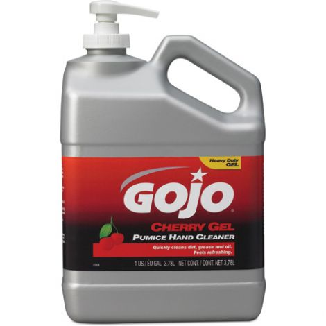 Gojo® Cherry Gel® Pumice Hand Cleaner - Type: Pumice - Container Size: 3.78L - Container - Type: Jug - Qty/Case: 4