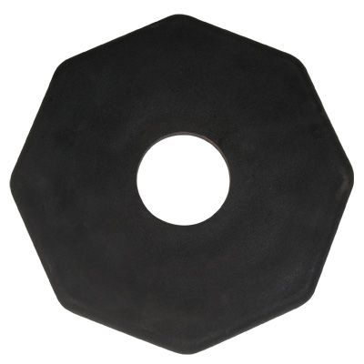 Premium Delineator Posts - Rubber Base - Weight: 12 lbs.