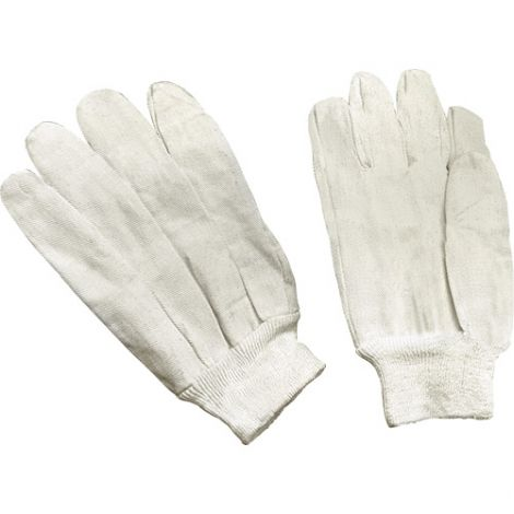 Cotton Canvas Gloves - Size: Large - Fabric Weight: 8 oz. - Case Quantity: 300
