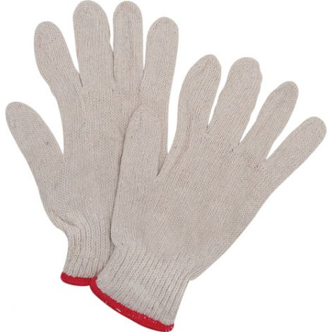 Poly/Cotton String Knit Gloves - Standard Weight - Size: 2X-Large - Qty: 300