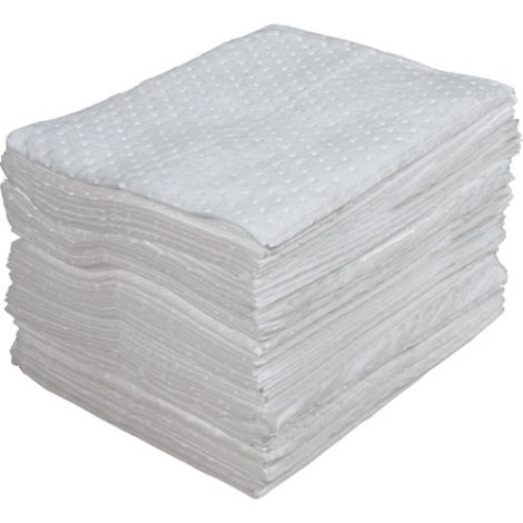Laminated (SMS) Sorbent Pads - Light Weight - Absorbency/Pkg.: 30 Gallons