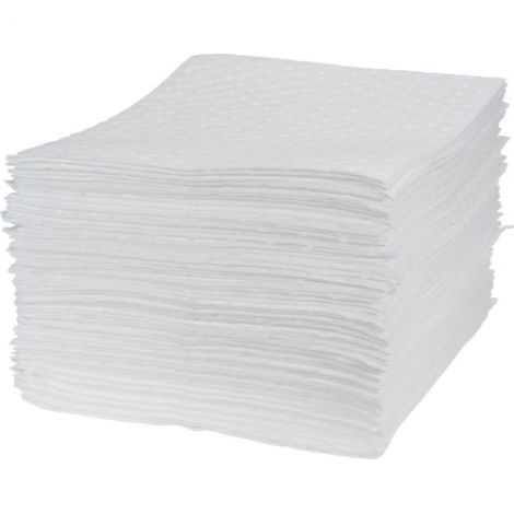 Natural Fine Fibre Sorbent Pads - Heavy Weight - Absorbency/Pkg.: 30 Gallons