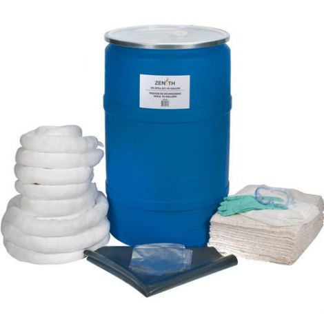 55-Gallon Eco-Friendly Spill Kits -Spill Type: Oil Only