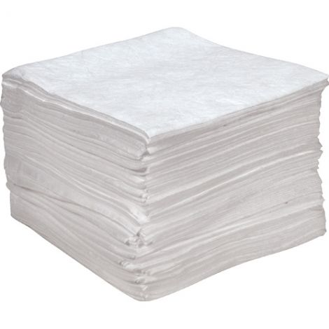 Anti Static Sorbent Pads - Spill Type: Oil Only - Absorbency/Pkg.: 55 Gal.