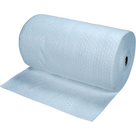 Blue Bonded Sorbent Rolls - Spill Type: Oil Only - Weight: Light - Absorbency/Pkg.: 55 Gallons