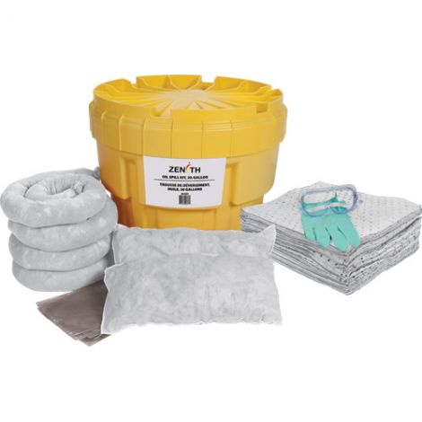 20-Gallon Spill Kits - Spill Type: Oil Only