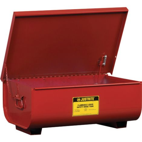 """Steel Bench Top Rinse Tanks - Capacity: 11 gal. - Overall: 8-3/4""""H x 16""""W - 8-3/4""""D"""