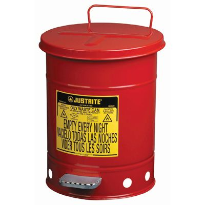 Oily Waste Can - Capacity: 21 US gal.