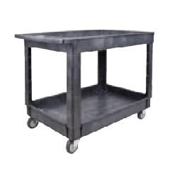 Plastic Utility Service Carts - Overall Width: 25-1/2""